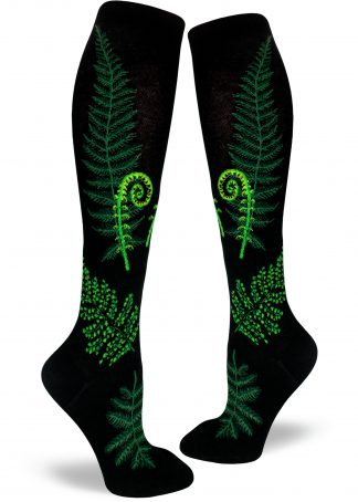 Ferns and Fiddleheads Women's Knee Socks