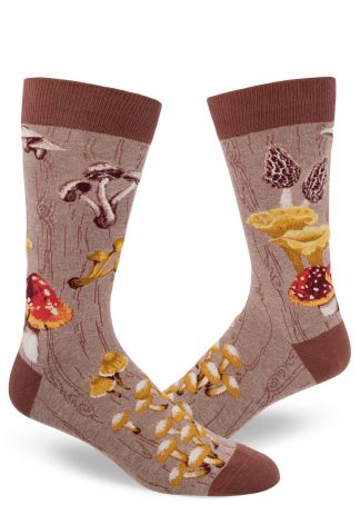 Mushroom socks for men